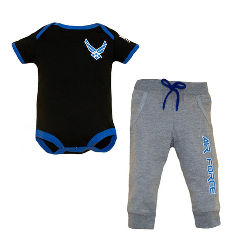 Air Force Infant 2pc Jogger Set-justbabywear