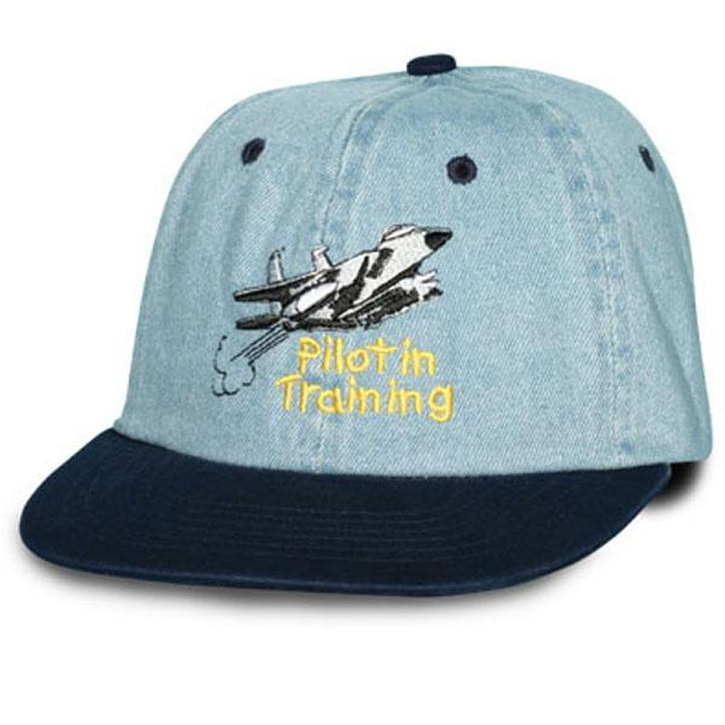 Air Force Pilot in Training Kids Ball Cap-justbabywear