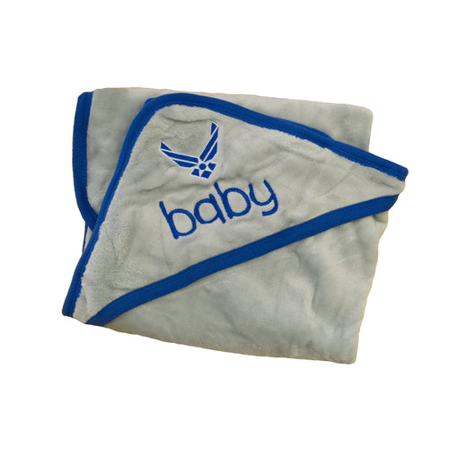 Air Force Plush Baby Blanket-justbabywear