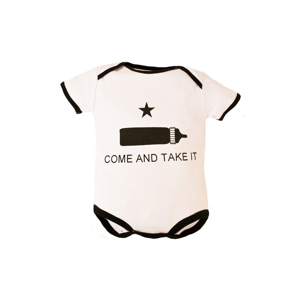 Come And Take It Bodysuit-justbabywear