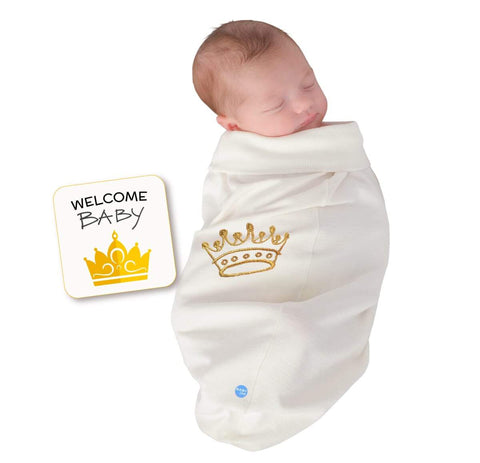 Crown Cocoon Baby Swaddle