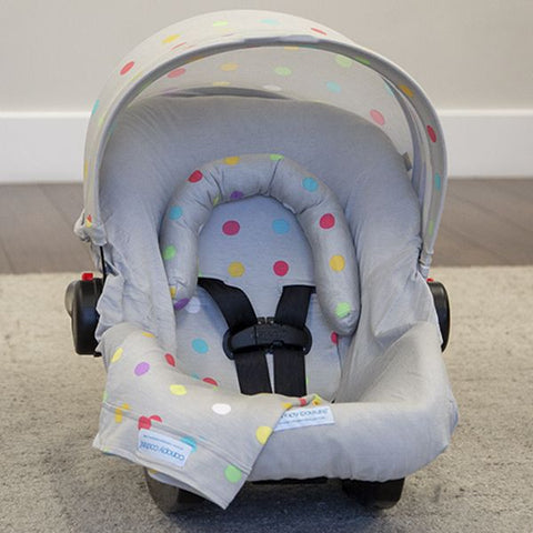 Cullen - Car Seat Canopy 5 Pc Whole Caboodle Baby Infant Car Seat Cover Kit
