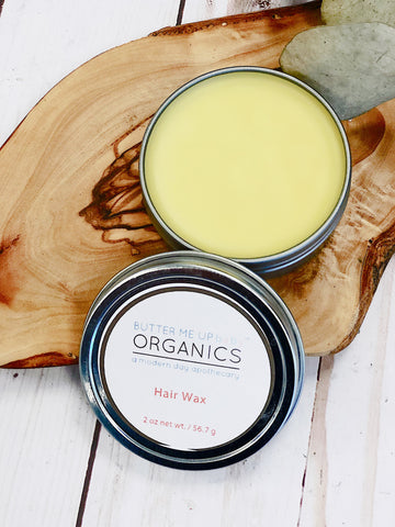 Organic Hair Wax for Babies, Toddlers and Mom