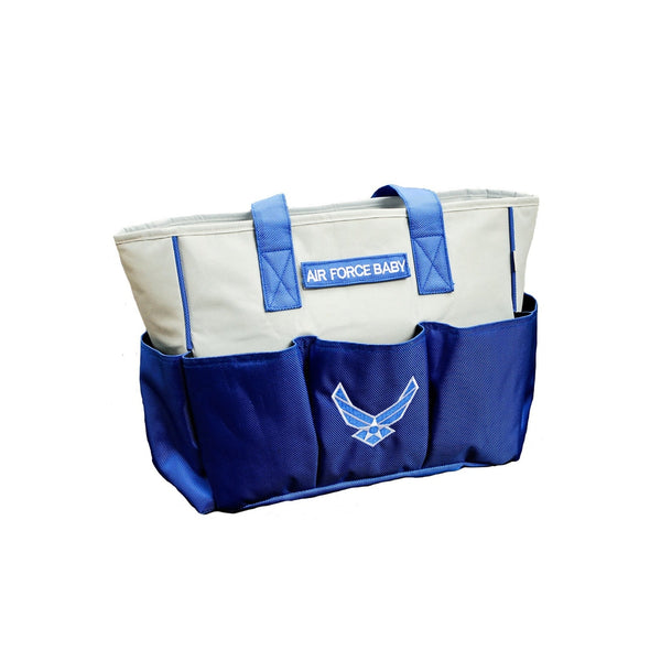 Embroidered Air Force Diaper Bag-justbabywear