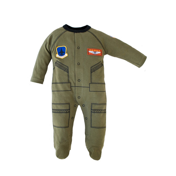 Flight Suit Crawler-justbabywear