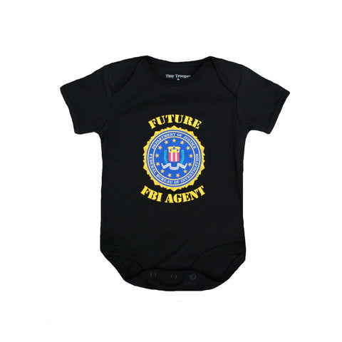 Future FBI Agent Bodysuit-justbabywear