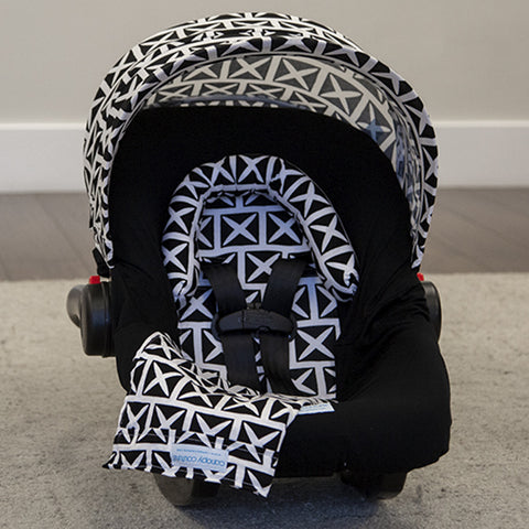 Harlow - Car Seat Canopy 5 Pc Whole Caboodle Baby Infant Car Seat Cover Kit
