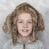 Hound Dog Faux Fur Eskimo Hat for Infants & Toddlers