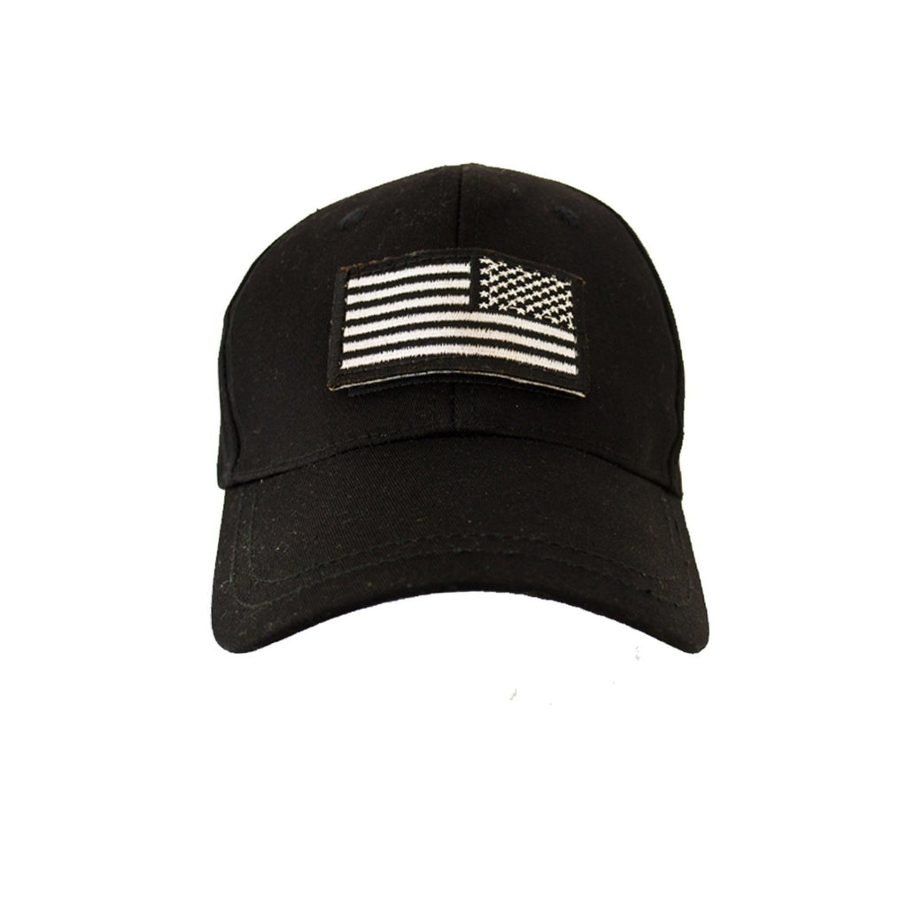 Kids Tactical Cap- Stealth Black-justbabywear
