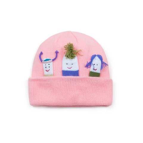 Girls Group Baby Knit Hat