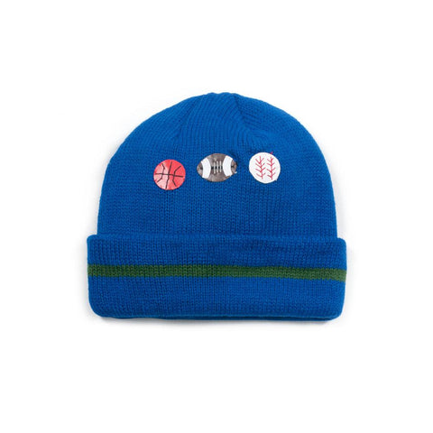 Sports Theme Baby Knit Hat