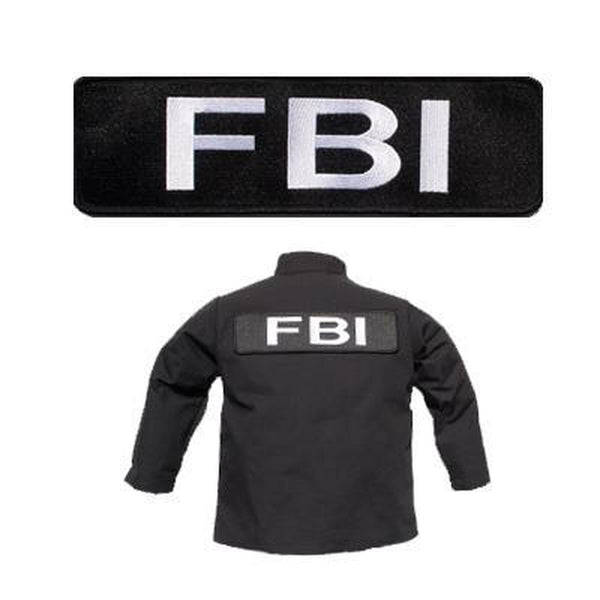 Large FBI Banner Patch-justbabywear
