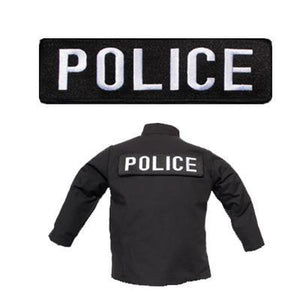 Large Police Banner Patch-justbabywear