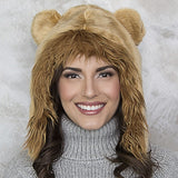 Lion Faux Fur Eskimo Hat for Infants & Toddlers