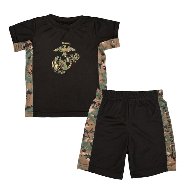 Marine 2pc Toddler Athletic Set-justbabywear