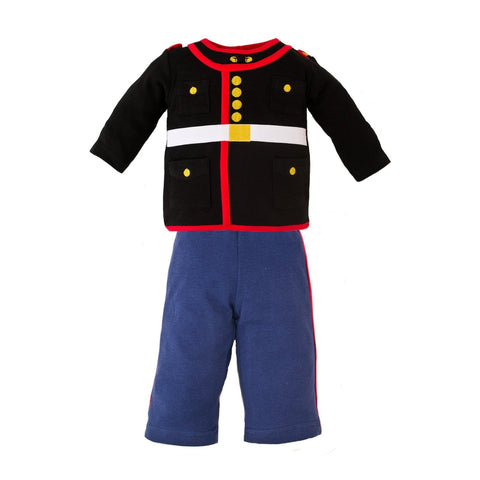 Marine Dress Blues 2 pc infant set-justbabywear