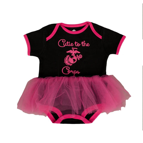 "Marine Girls ""Cutie to the Corps"" Tutu-justbabywear"