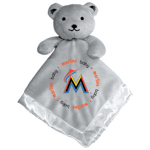 Gray Security Bear - Miami Marlins
