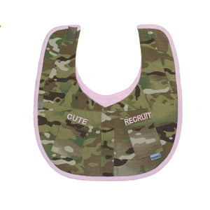 Multicam® Cute Recruit Uniform Bib-justbabywear