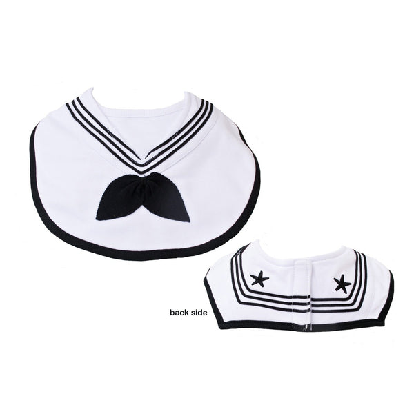 Navy Cracker Jack Sailor Bib-justbabywear
