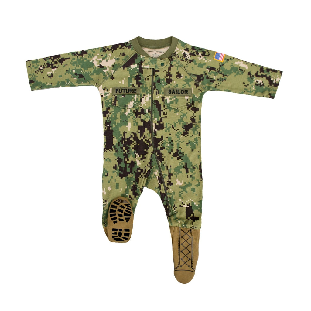 Navy Type III Future Sailor Crawler-justbabywear