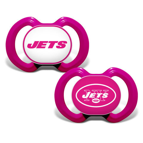New York Jets Gen. 3000 Pacifier 2-Pack - Pink