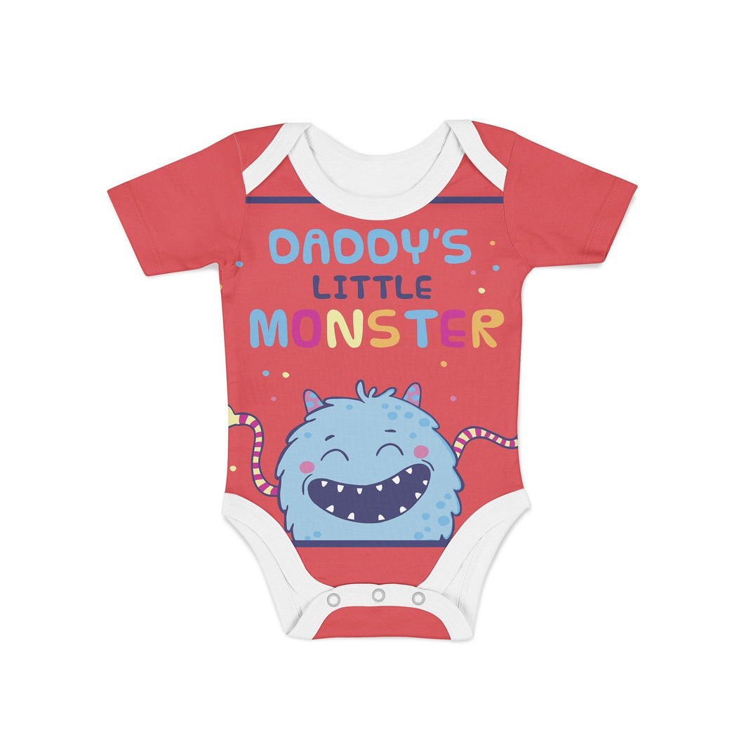 Infant Daddys Lil Monster Onesie