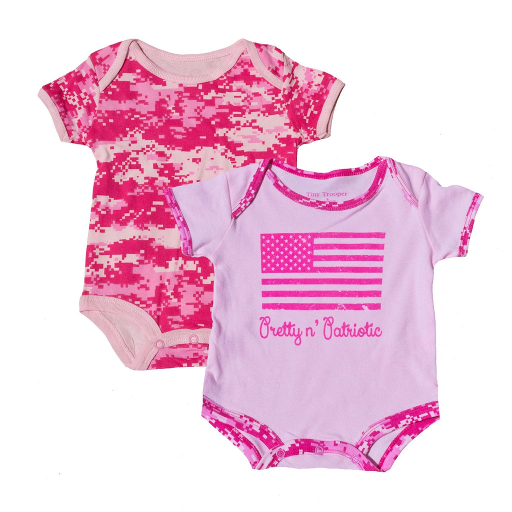 Pretty and Patriotic Bodysuits 2pk-justbabywear