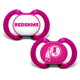 Gen. 3000 Pacifier 2-Pack - Washington Redskins Pink