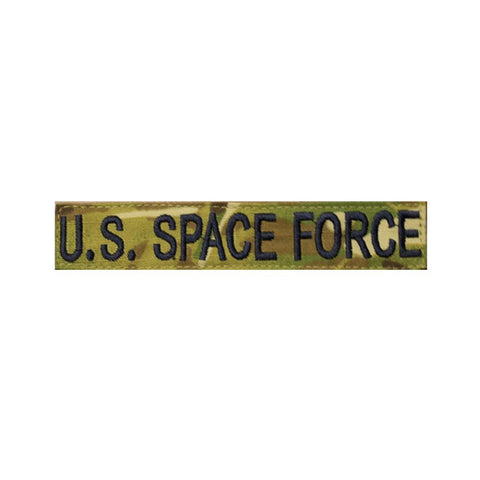 U.S Space Force Multicam/OCP Army Nametape