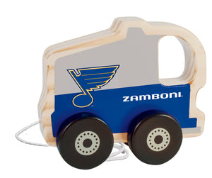 St. Louis Blues Push & Pull Wooden Toy