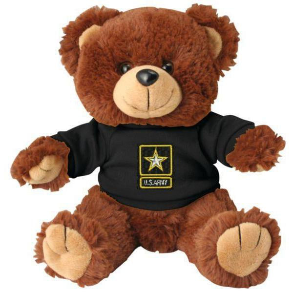 US Army Brown Plush Toy Teddy Bear-justbabywear