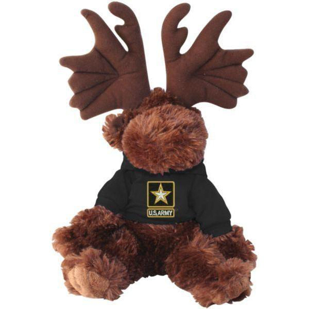 US Army Stuffed Plush Toy Moose-justbabywear