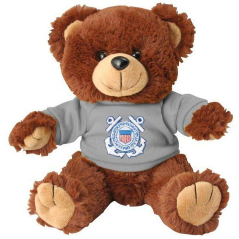 US Coast Guard Brown Stuffed Plush Toy Teddy Bear-justbabywear