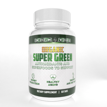 Organic Super Greens - Infinium Works