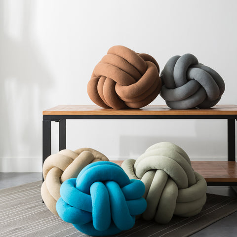 Soft Rest Knot Pillow With Pillow Core Cushion