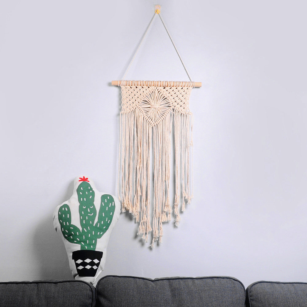 Macrame Woven Wall Hanging Art Boho Home