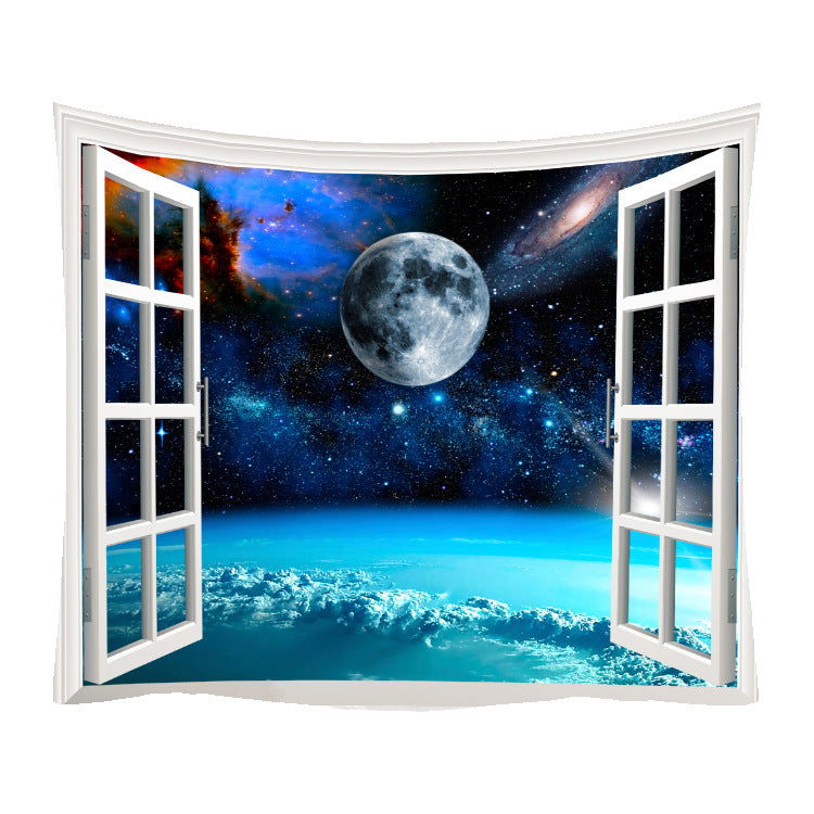 Ins Starry Tapestry Series Printing Home Tapestry Wall Hanging