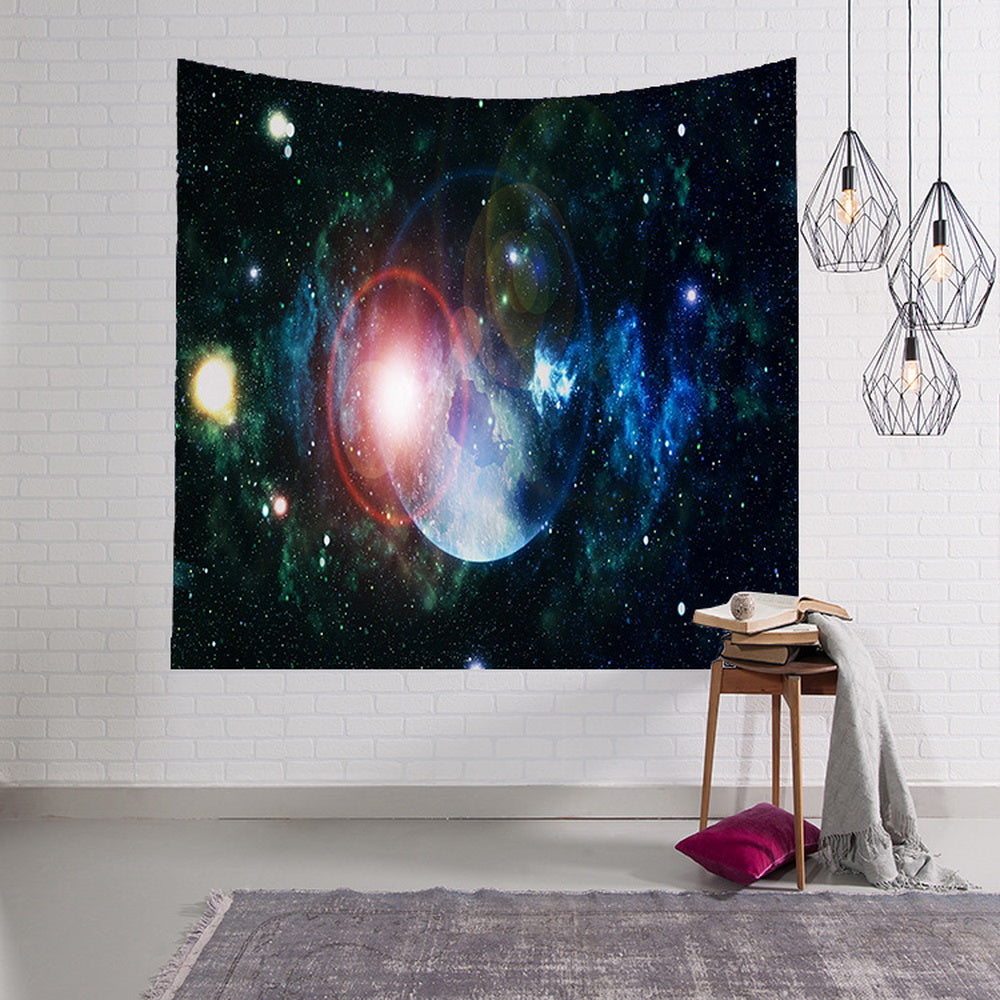 Solar System with Planets Outer Space Wall Hanging tapestry