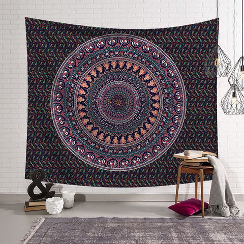 Mandala  Circle Hanging Tapestries
