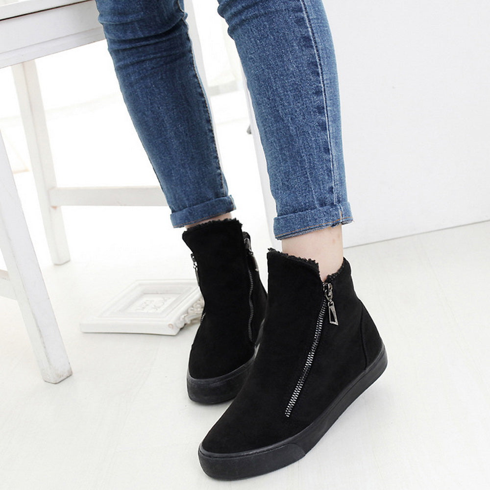 warm short tube cotton boots British style Martin boots