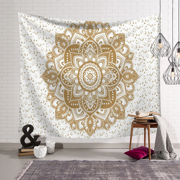 Boho Kaleidoscope Decor Wall Hanging Dorm Room Tapestry