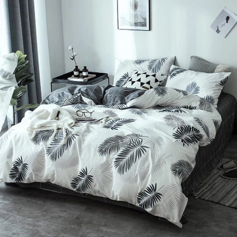 3 pieces Cotton Soft Duvet Cover Set