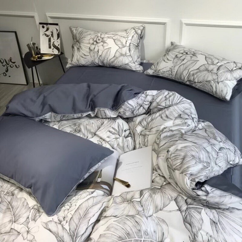 3 Piece Cotton  Duvet Cover Set