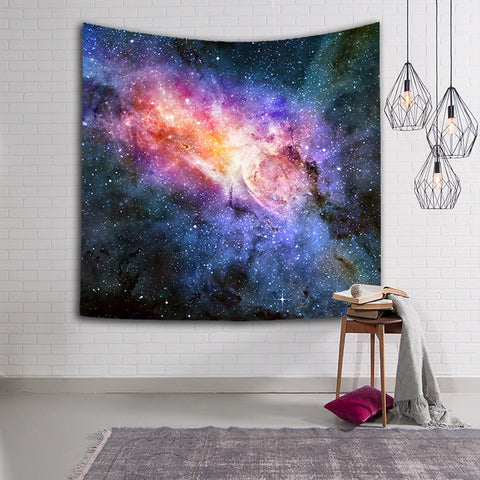 Starry Sky Tapestry Wall Hanging  Galaxy Space Tapestry