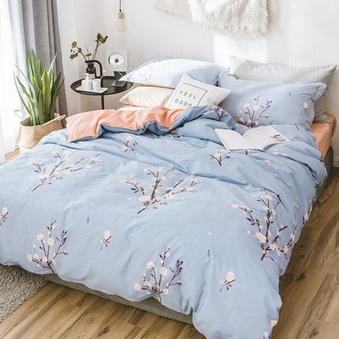 3 Piece 100% Cotton  Duvet Cover Set
