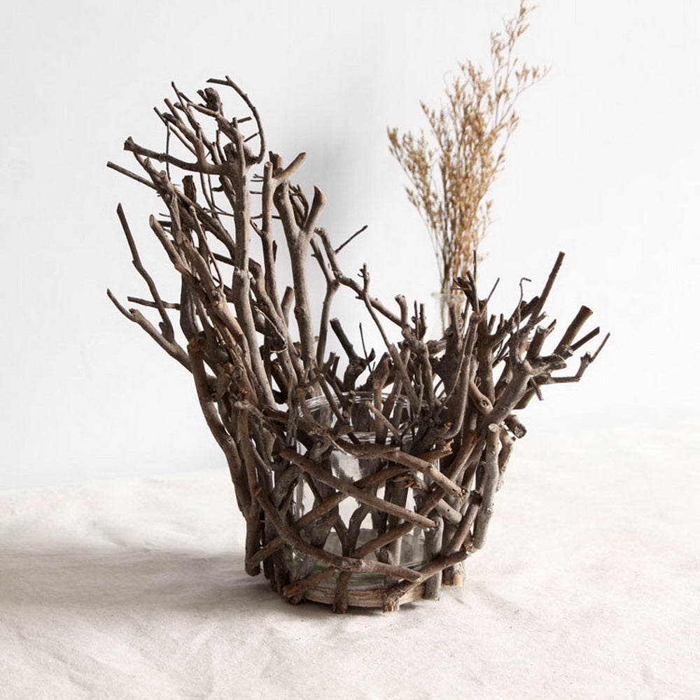 Tree Branch Tea Light Candle Holder for Home Wedding Coffee Shop Table Decoration