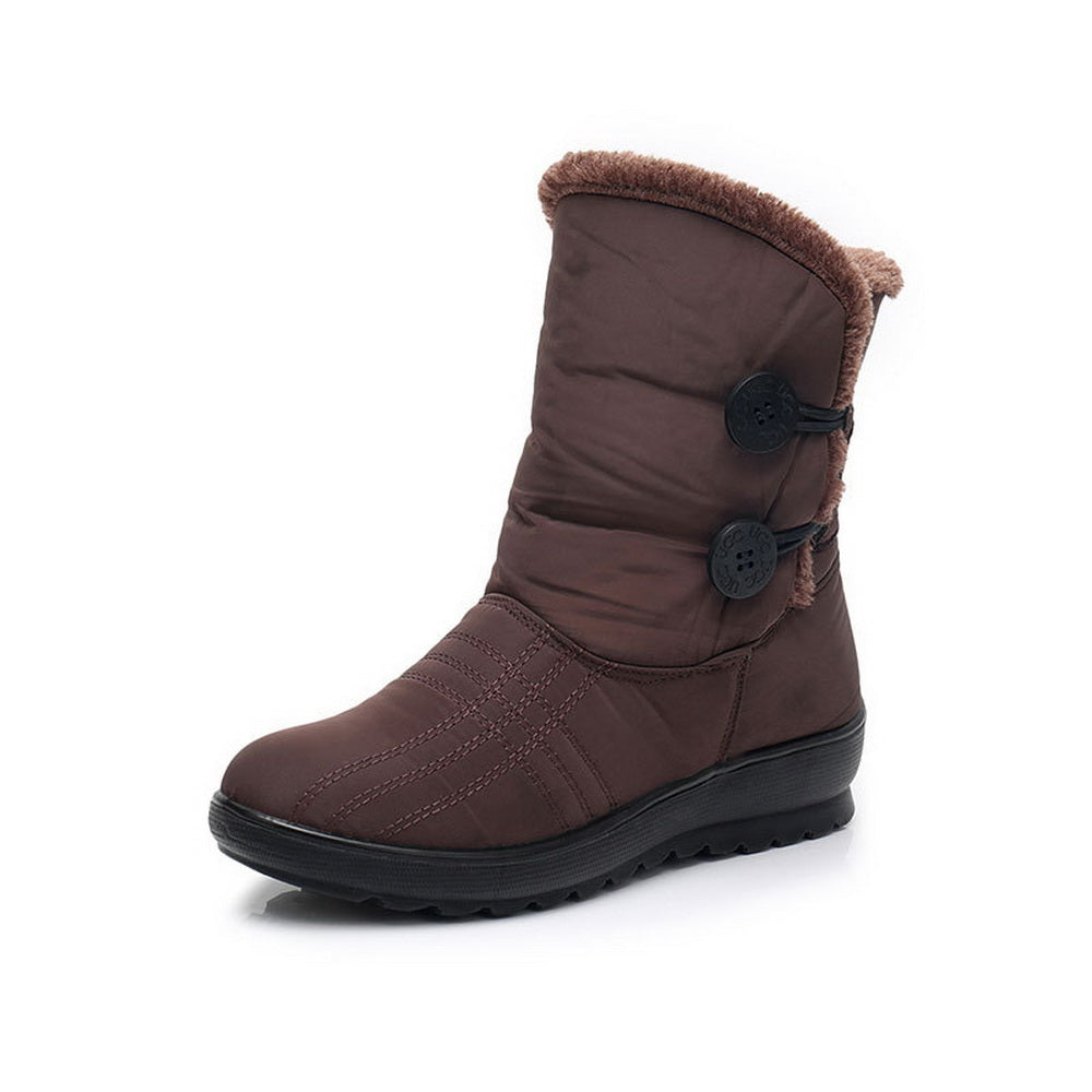 Non-Slip Waterproof  Cotton Shoes Warm Snow Boots