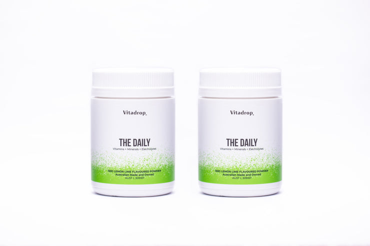 The Daily - Oral Electrolyte and Vitamin Powder 60 Serve Tub