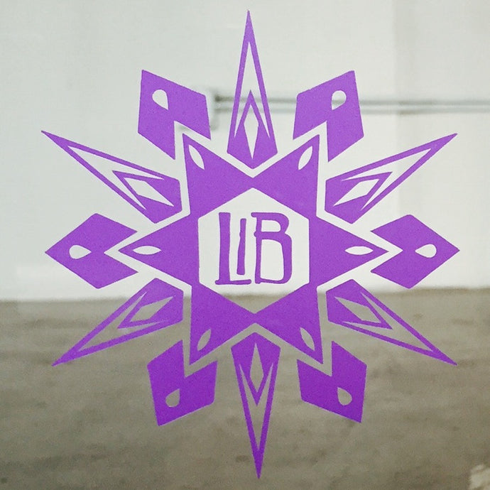 LIB Sunburst Decal Sticker